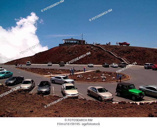 Maui, HI, Hawaii, Haleakala National Park, Puulaula Summit (10, 023 ft.), volcano