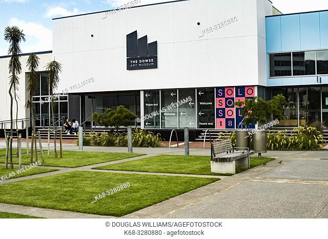 The Dowse Art Museum in Lower Hutt, North Island, New Zealand