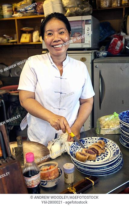 Open air kitchen Ho Chi Minh City Vietnam