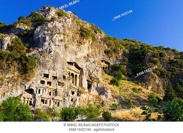 Tomb of Amyntas  Fethiye  Mugla province, Aegean coast, Turkey
