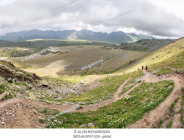 Russia, Upper Baksan Valley, Caucasus