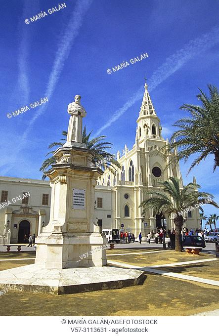 Virgen de Regla sanctuary. Chipiona, Cadiz province, Andalucia, Spain
