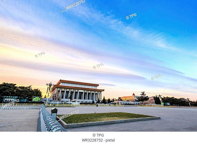 Chairman Mao Zedong Memorial Hall;Beijing; China