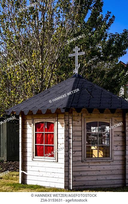 Little chapel in Reykjavik, Iceland