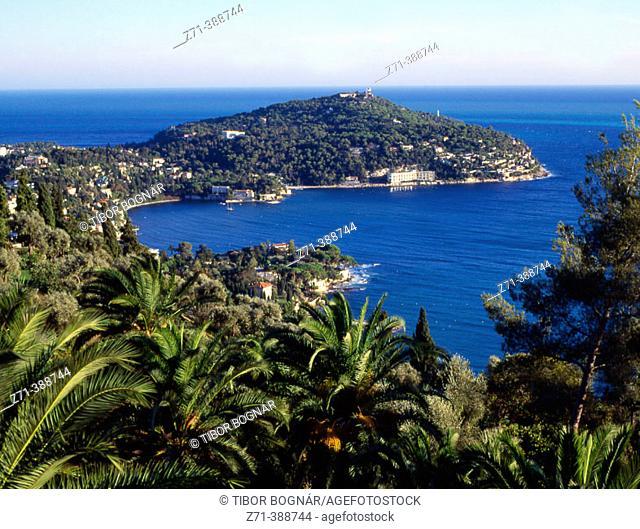 Saint Jean de Cap Ferrat. Cote d'Azur. France
