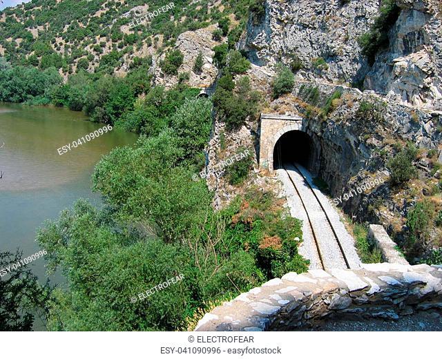 Nestos river near Xanthi Thrace Greece