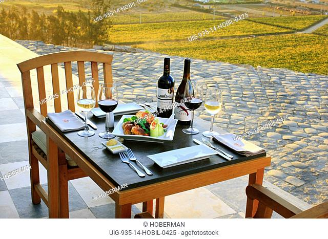 Al Fresco Lunch Setting for Two, Chile