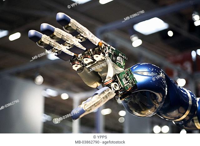 Robot-hand, machine, robots, hand, joints, fingers, artificially, cable, automatically, symbol, mechanizes technology, robot-technology technology electronics...