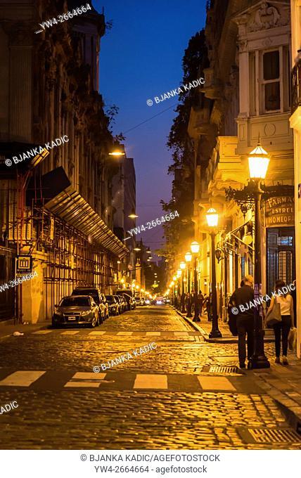 Defensa Street, Monserrat district, Buenos Aires, Argentina
