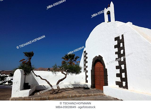 Church of Tahiche, Lanzarote, Canary islands, Spain