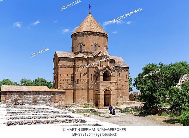 Armenian Church of the Holy Cross, Akdamar, Ahtamar, Akdamar Adasi, Lake Van, Van Province, Eastern Anatolia Region, Anatolia, Turkey