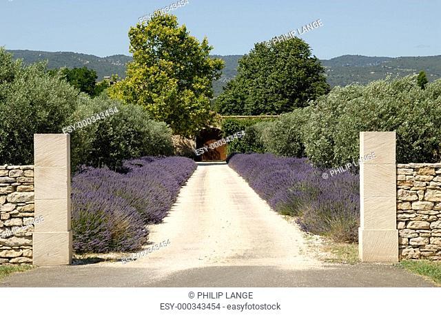 Haus in der Provence, Frankreich