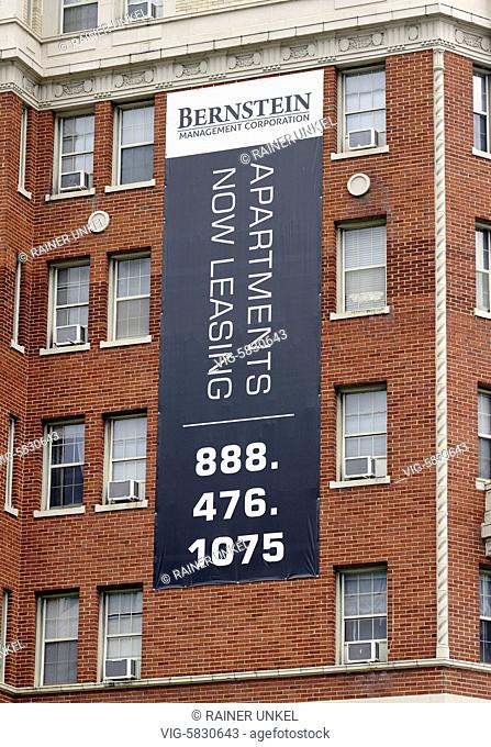 USA : Apartments for rent in Washington , 26.05.2017 - Washington, District of Columbia, USA, 26/05/2017