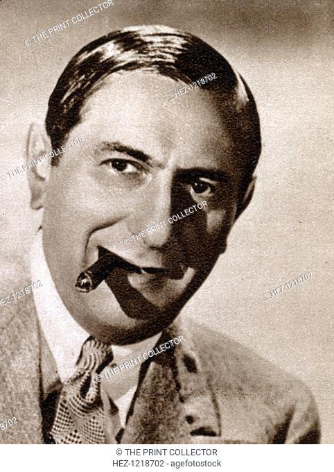 Ernst Lubitsch, German-born Jewish film director, 1933. Lubitsch (1892-1947) emigrated to Hollywood in 1922