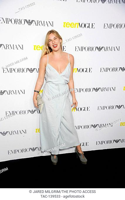 Scout Willis attends the Teen Vogue Young Hollywood Issue Party on October 2nd, 2015 in Beverly Hills, California
