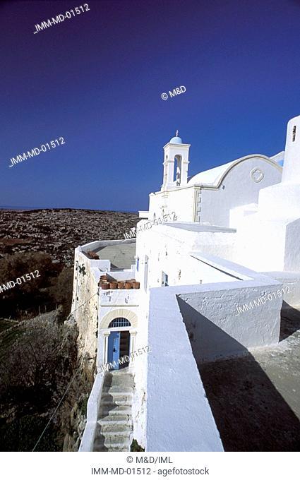 Monastery of Chrissoskalitissa Elafonissi, Hania, Crete, Greece, Europe