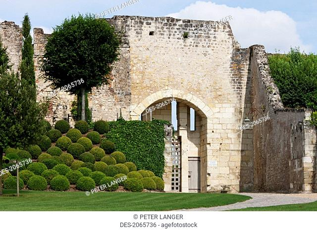 Porcupine's Gate To The Garden, Chateau D'amboise, Amboise, France