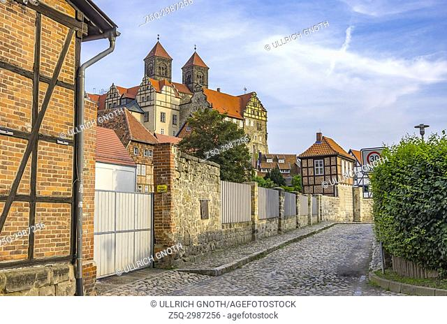 Castle and Collegiate Church St. Servatius of Quedlinburg, Saxony-Anhalt, Germany