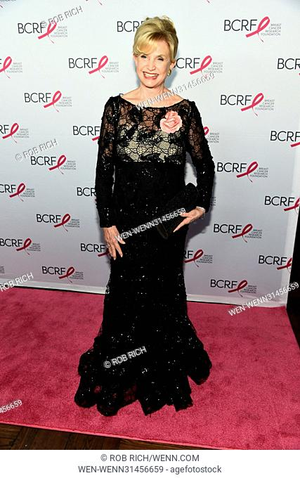 Breast Cancer Research Foundation Hot Pink Party Super Nova in NYC Featuring: Carolyn Maloney Where: Manhattan, New York