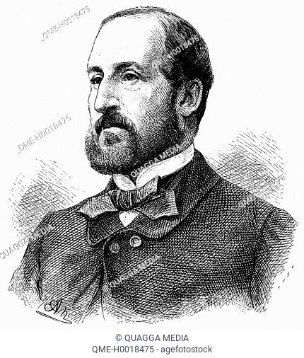 Émile Augier (1820 – 1889), French dramatist