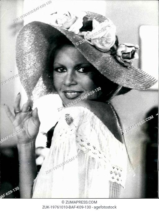 Oct. 10, 1976 - Brigitte Bardot Appears In A Television Commercial To Advertise Male Toiletry Screen Goddess Brigitte Bardot