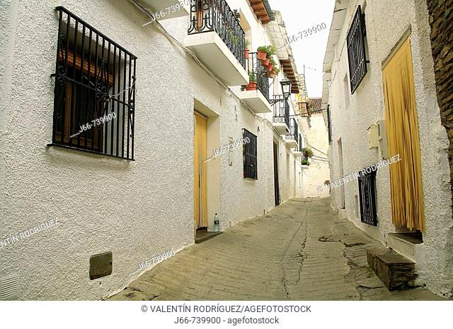 Capileira. Alpujarra, Sierra Nevada, Granada province, Andalucia, Spain