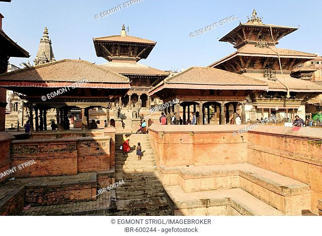 Manga Hiti water conduit, Durbar Square of Patan, Lalitpur, Kathmandu, Nepal