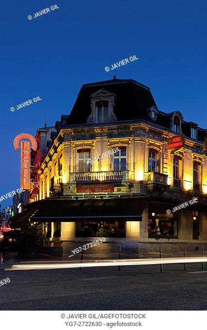 Continental hotel, Reims, Marne, Champagne-Ardenne, France
