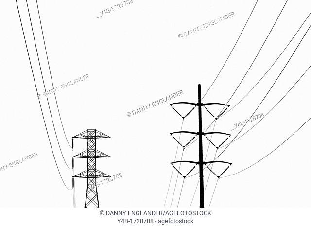 Power Lines, Tecolote Canyon