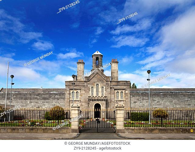 The front facade of Arbour Hill Prison,