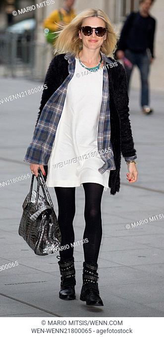 Celebrities at BBC Radio 1 Featuring: Fearne Cotton Where: London, United Kingdom When: 06 Oct 2014 Credit: Mario Mitsis/WENN.com