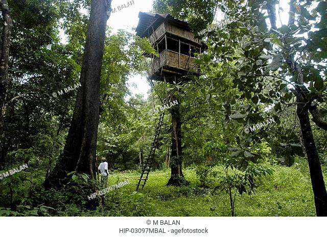 TREE TOP HOUSE, THATTEKAD BIRD SANCTUARY, ERNAKULAM DIST
