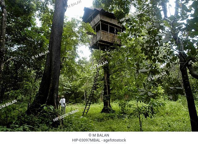 TREE TOP HOUSE, THATTEKAD BIRD SANCTUARY, ERNAKULAM DIST