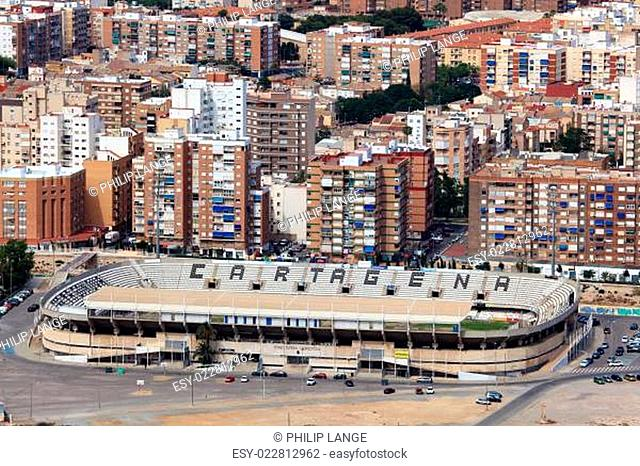 Stadium in Cartagena, region Murcia, Spain