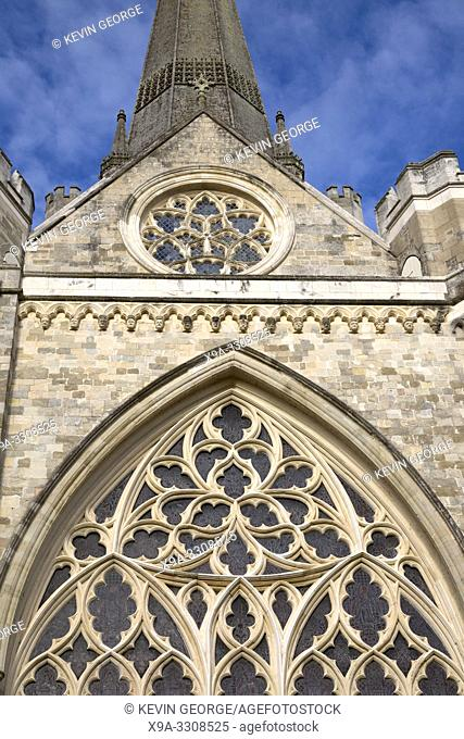 Window at Chichester Cathedral; Church, UK