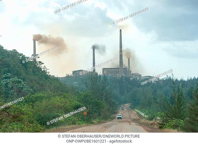 Cuba, Holguín, Punta Gorda, nickel production, Planta de Níquel Comandante Ernesto Che Guevara in Punta Gorda