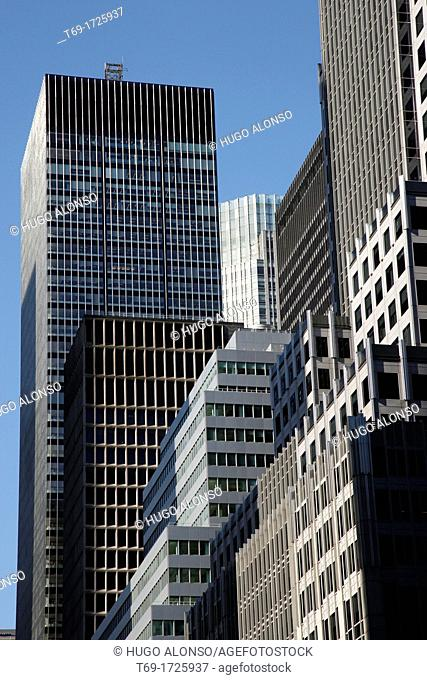 Buildings in New York City USA
