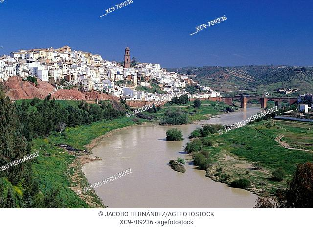 Montoro and Guadalquivir River, Córdoba province, Andalusia, Spain