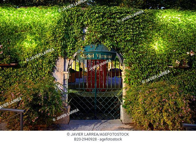 Hotel Resturant, Chablis, Yonne, Bourgogne, Burgundy, France, Europe