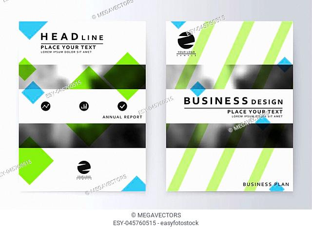 layout design template. Annual report brochure. Business flyer design template. Business paper. Leaflet cover presentation layout in A4 size