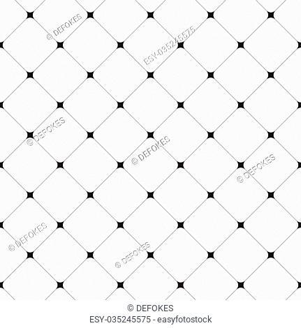 Simple clean modern diagonal tiles background - vector seamless pattern