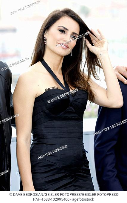 Penelope Cruz at the 'Everybody Knows / Todos lo saben' photocall during the 71st Cannes Film Festival at the Palais des Festivals on May 09.05