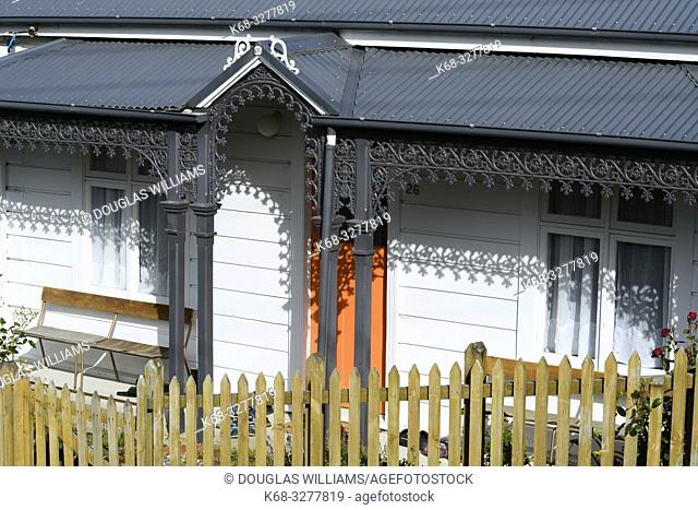 A house in Port Chalmers, New Zealand
