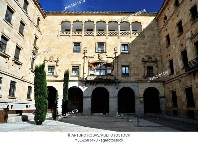 The building of the Gerencia Territorial in Salamanca