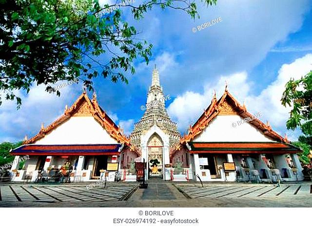 Wat Arun, The Temple of Dawn Bangkok, Thailand