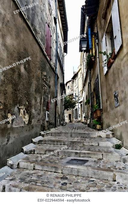 Small narrow street