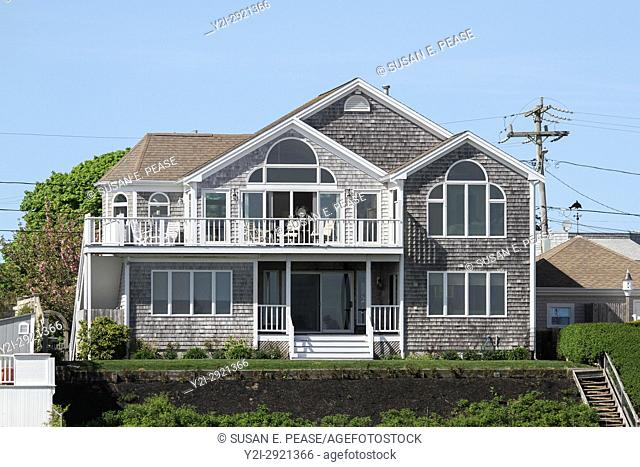 A home near Hyannis Harbor, Cape Cod, Massachusetts, United States, North America. Editorial use only