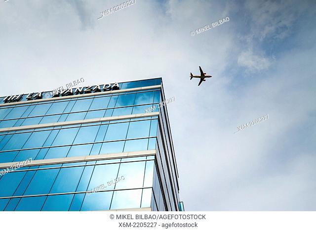 """""""""""""""""""""""NH La AVanzada"""""""" hotel facade. Leioa, Biscay, Spain, Europe"""