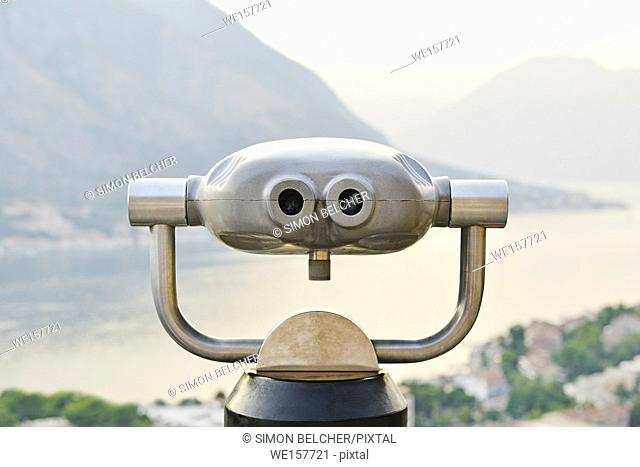 Tower Viewer Coin Operated Binoculars