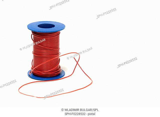 Spool of electrical cable